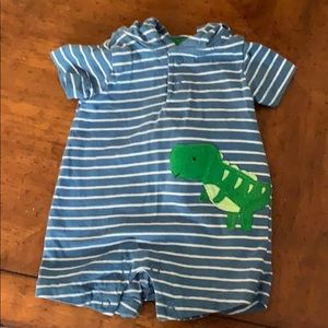 Newborn Carter's Child of Mine Dino Shorts Onsie